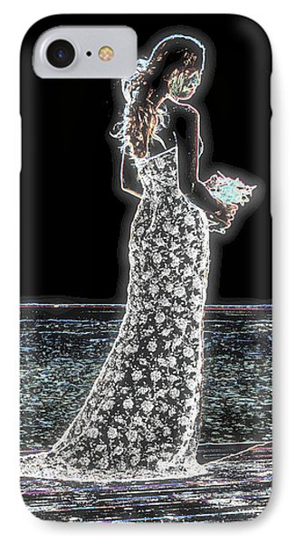 Posing Shyly IPhone Case by Leticia Latocki