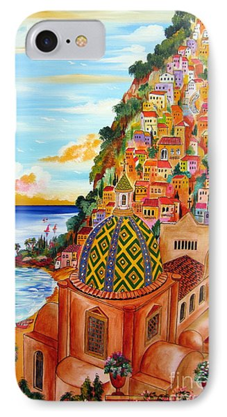 Positano In My Fantasy IPhone Case