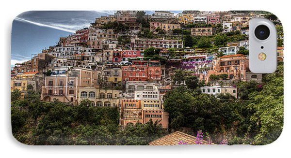 IPhone Case featuring the photograph Positano by Uri Baruch