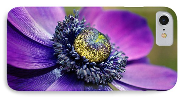 IPhone Case featuring the photograph Positively Purple by Kjirsten Collier