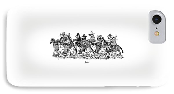 Posse IPhone Case by William Steig