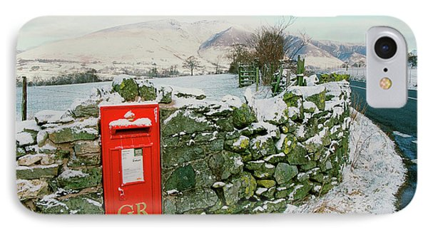 Post Box In St Johns In The Vale IPhone Case