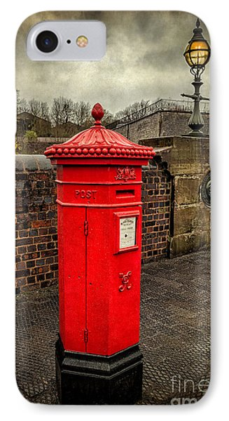 Post Box V2 IPhone Case by Adrian Evans