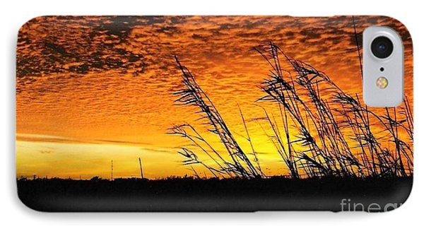 Post Hurricane Rita At Dockside In Beaumont Texas Usa IPhone Case by Michael Hoard