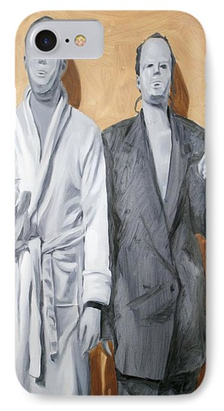 Post Modern Intimacy I Phone Case by Alison Schmidt Carson