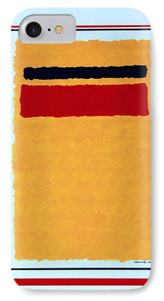 IPhone Case featuring the painting Post Modern Modern by Thomas Gronowski