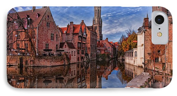 Postcard Canal IPhone Case
