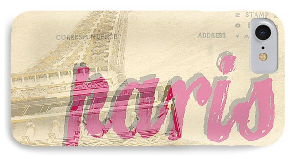 Postcard From Paris Phone Case by Edward Fielding