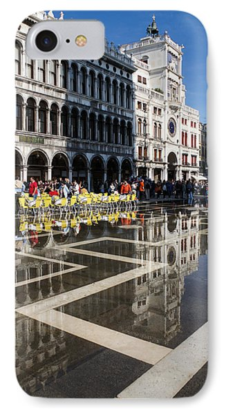 IPhone Case featuring the photograph Postcard From Venice by Georgia Mizuleva