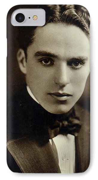 Postcard Of Charlie Chaplin IPhone Case