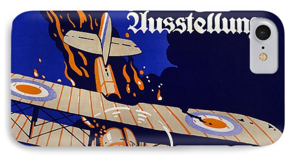 Poster Advertising The German Air War IPhone Case