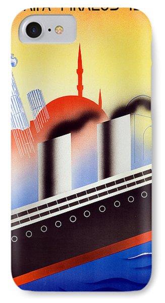 Poster Advertising The Polish Palestine Line Phone Case by Zygmunt Glinicki