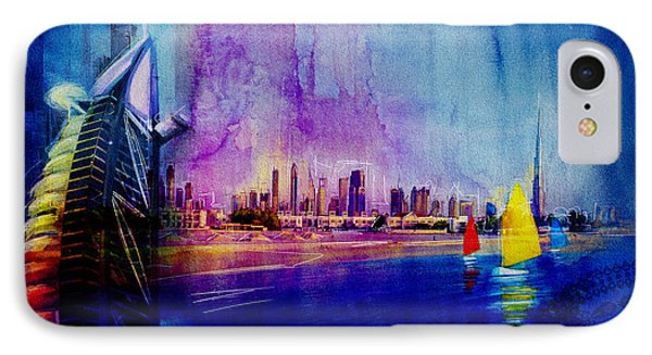 Poster Dubai Expo - 9 IPhone Case by Corporate Art Task Force