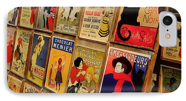 Posters In Paris Phone Case by Dany Lison