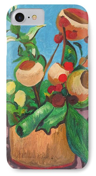 Pot Pourri Phone Case by Esther Newman-Cohen