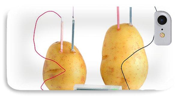 Potato Clock IPhone Case