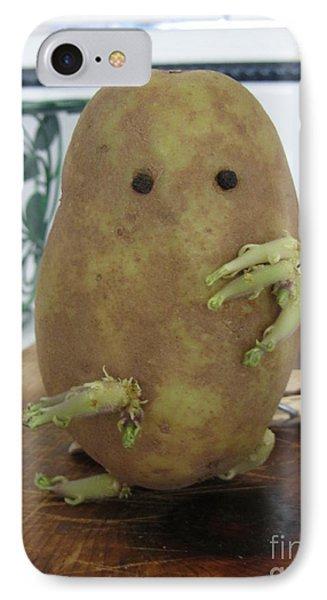 Potato Man IPhone Case by Samantha Geernaert