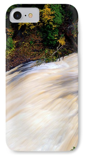 Potawatami Falls Phone Case by Tim Hawkins