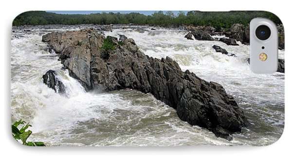 Potomac Rapids IPhone Case by Olivier Le Queinec