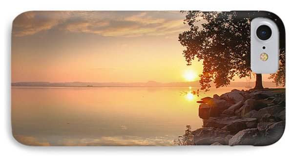 Potomac Sunrise II IPhone Case by Steven Ainsworth