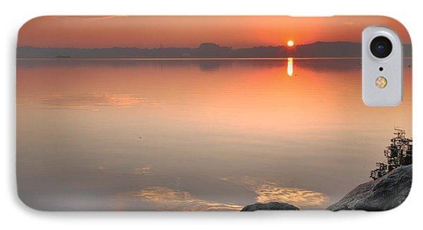 Potomac Sunrise IPhone Case by Steven Ainsworth