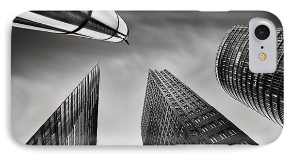 Potsdamer Platz 3 IPhone Case by Rod McLean