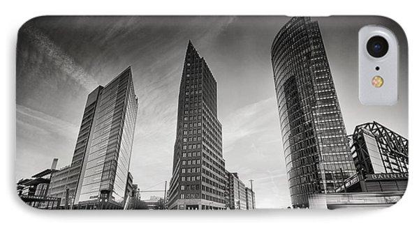 Potsdamer Platz 1 IPhone Case by Rod McLean