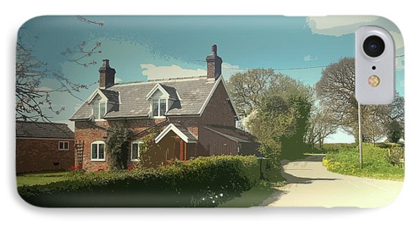 Potters Farm, Situated On Bowling Alley Lane Roughly Midway IPhone Case