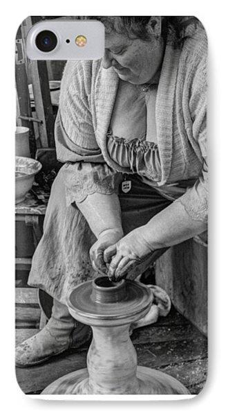 Potters Wheel V1 IPhone Case