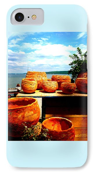 Pottery Market Diessen Phone Case by The Creative Minds Art and Photography