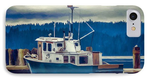 Poulsbo Waterfront 03 IPhone Case by Wally Hampton
