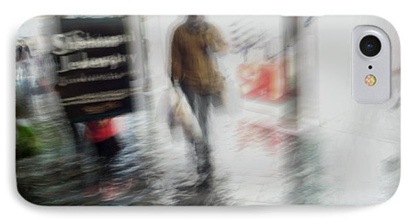 IPhone Case featuring the photograph Pounding The Pavement by Alex Lapidus