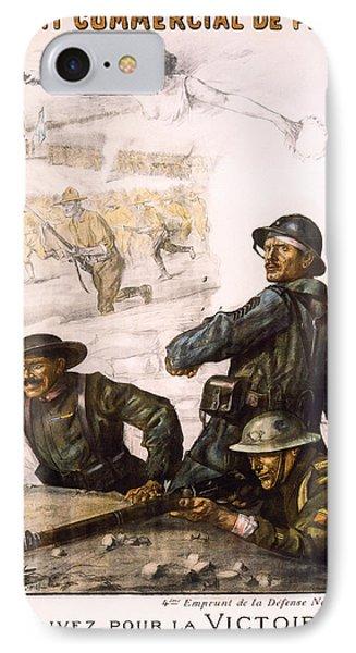 Pour La Victoire - W W 1 - 1918 Phone Case by Daniel Hagerman