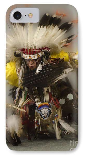 Pow Wow Days Of Thunder   IPhone Case by Bob Christopher