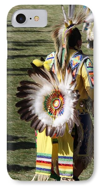 IPhone Case featuring the photograph Pow Wow Series by Yumi Johnson