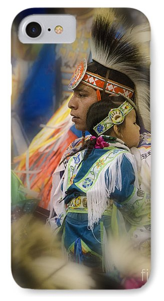 Pow Wow Traditional Ways Of  Learning IPhone Case by Bob Christopher