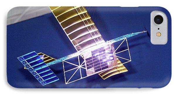 Power-beam Aircraft Research IPhone Case by Nasa/tom Tschida
