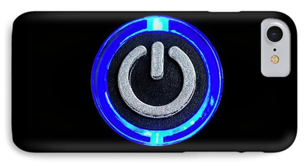 Power Button Icon IPhone Case by Science Photo Library