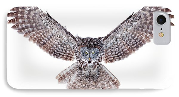Power - Great Grey Owl IPhone Case