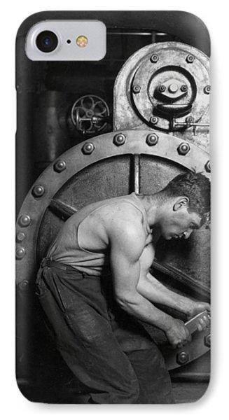 Power House Mechanic 1920 IPhone Case