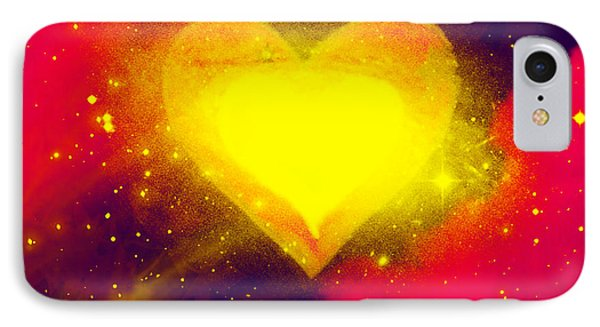 IPhone Case featuring the painting Power Of Emotion by Persephone Artworks