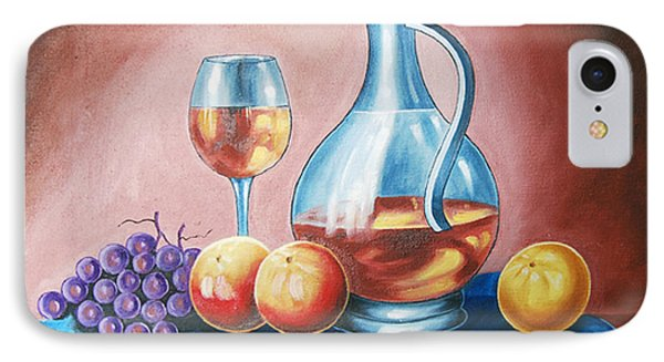 IPhone Case featuring the painting Power Of Essence by Ragunath Venkatraman