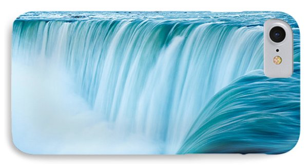 Power Of Niagara Falls IPhone Case by Peta Thames