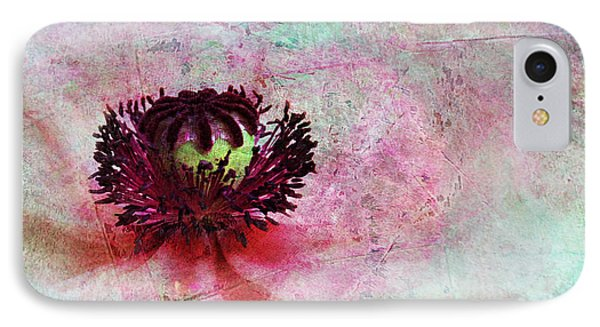 Power Of Poppy Phone Case by Claudia Moeckel