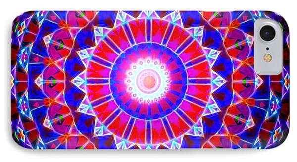 IPhone Case featuring the digital art Power Of The Circle by Mario Carini