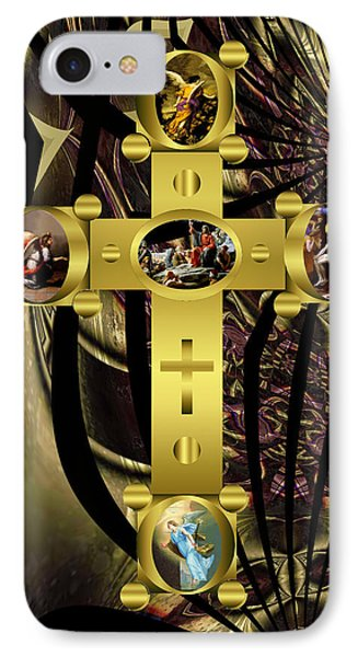 IPhone Case featuring the photograph Power Of The Cross 2 by Robert Kernodle