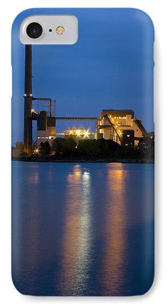 Power Plant IPhone Case by Adam Romanowicz