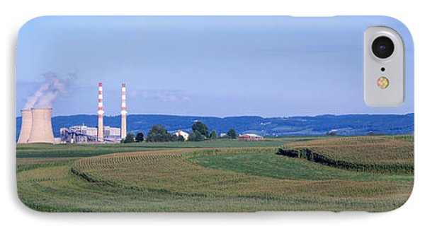 Power Plant Energy IPhone Case by Panoramic Images