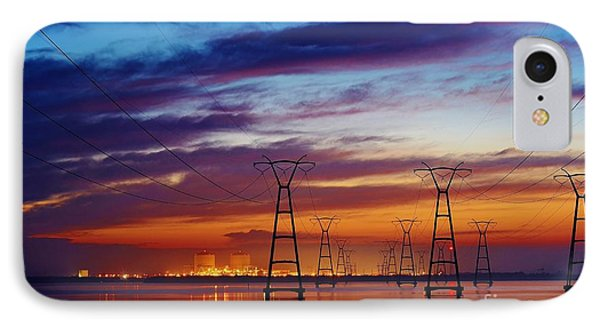 Power Plant On The Rise IPhone Case