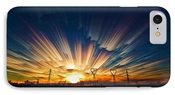 Power Source Phone Case by Matt Molloy